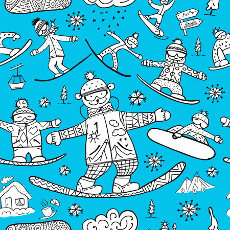 Snowboard Yeti Stock Illustrations – 37 Snowboard Yeti Stock Illustrations,  Vectors & Clipart - Dreamstime
