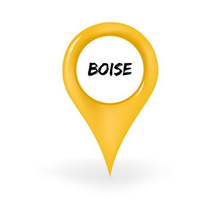 Illustration pour Boise Location - image libre de droit