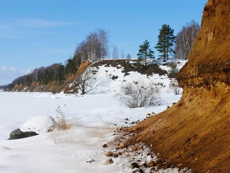 A steep bank