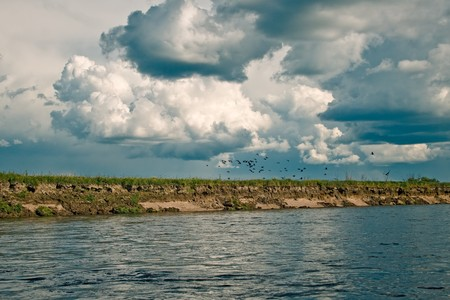 Dep river, the Amur Region, Russia