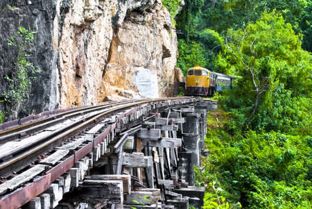 Railway on the cliff
