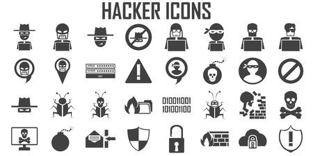 Vektor für hacker icon cyber spy vector. - Lizenzfreies Bild