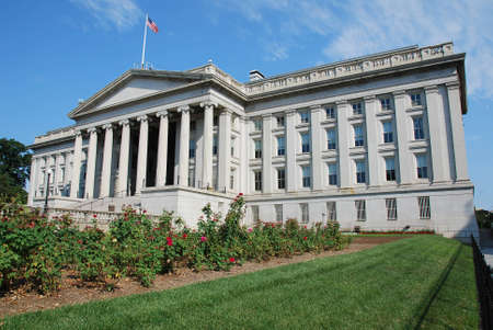 US Treasury Building on Pennsylvania Ave