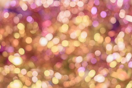 Background texture full of golden and pink shining bokeh : Royalty