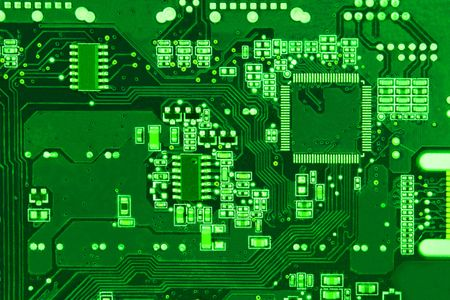 Close-up circuit board background