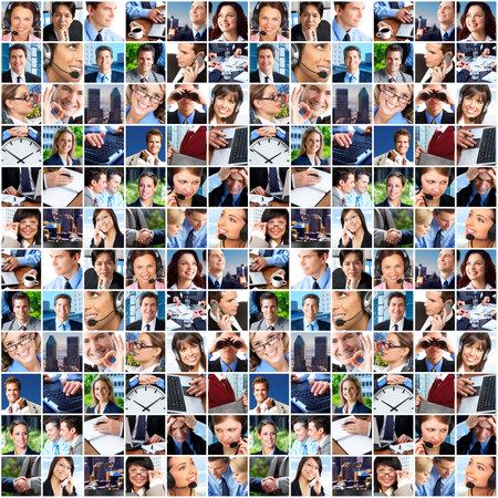 Photo pour Business people. Business team. Teamwork - image libre de droit