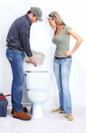 Photo for Plumber - Royalty Free Image