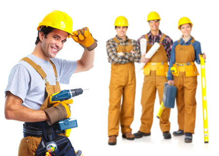 Photo for contractors workers people - Royalty Free Image