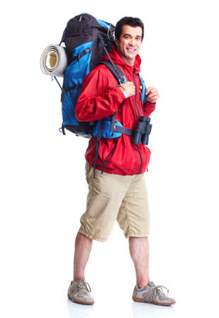 Tourist. Hiking