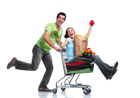 Foto für Shopping couple. - Lizenzfreies Bild