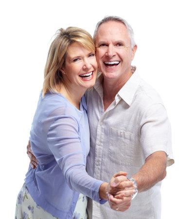 Photo pour Senior couple in love. - image libre de droit