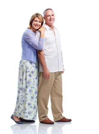 Senior couple in love.