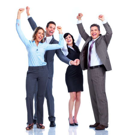 Group of business people  Success