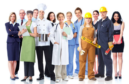 Photo for Group of industrial workers  - Royalty Free Image