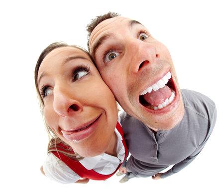 Funny people portraite caricature