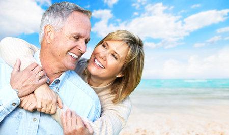Foto de Happy retired couple  - Imagen libre de derechos