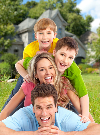 Photo for Happy family. - Royalty Free Image