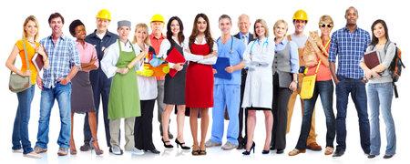 Foto de Group of workers people. - Imagen libre de derechos