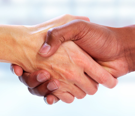 Photo for Business Handshake. - Royalty Free Image