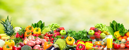 Photo for Fruits and vegetables. - Royalty Free Image