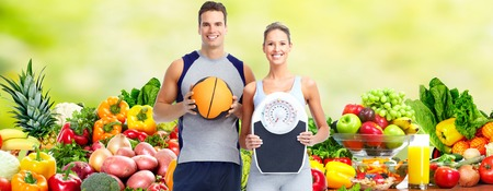 Photo for Healthy fitness couple. - Royalty Free Image