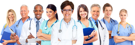 Photo for Group of medical doctors. Health care concept background. - Royalty Free Image