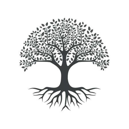 Illustration pour vector black tree of live icon on white background - image libre de droit