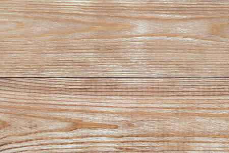 Photo pour Background of two light wooden panels tinted with protective composition. Blank for design. - image libre de droit