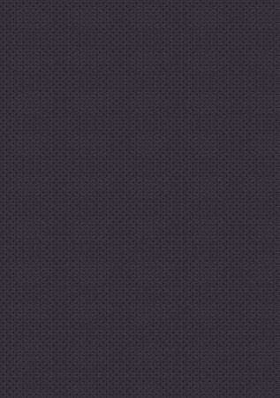 Illustration pour Seamless perforated gray texture. Black background - image libre de droit