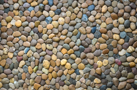 Pebbles Stone Wall Background Mural Wallpaper
