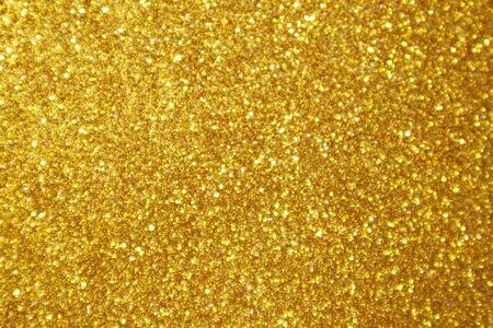 Photo pour Abstract gold glitter sparkle bokeh light background - image libre de droit