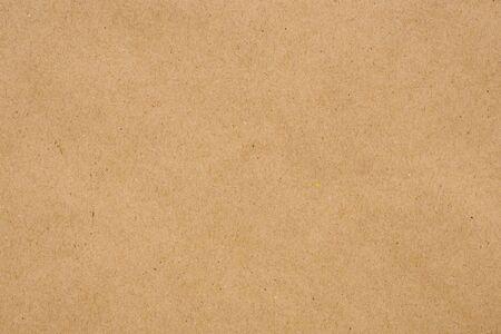 Photo pour Brown eco recycled kraft paper sheet texture cardboard background - image libre de droit