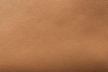 Photo pour Brown leather texture background close up - image libre de droit