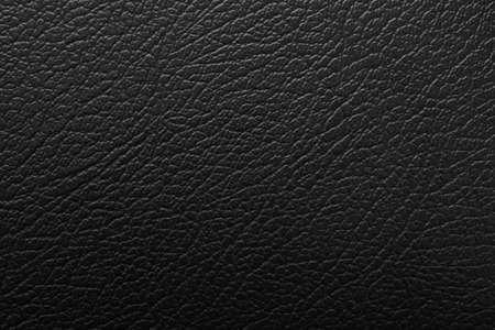 Photo pour Luxury black leather texture surface background - image libre de droit