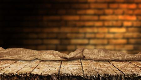 Photo pour Empty table background - image libre de droit