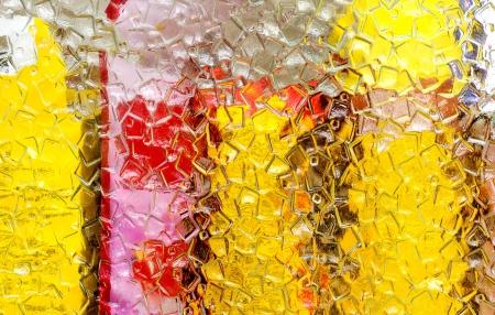 background corrugated glass