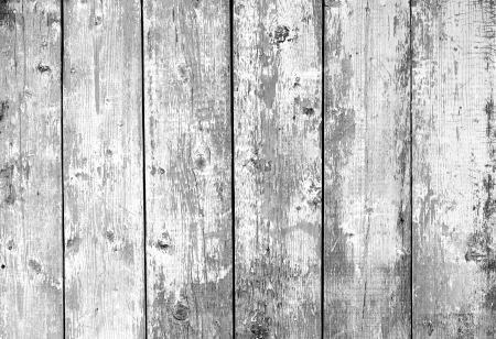 Close Up Of Gray Wooden Fence