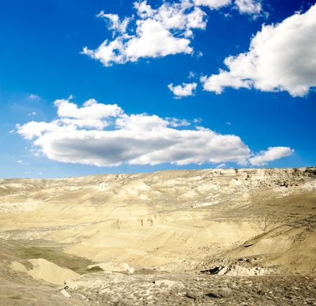 chalkstone mountain, Mangystau in Kazakhstan