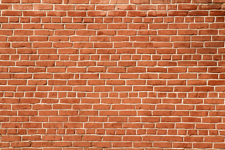 Photo for red brick wall background - Royalty Free Image