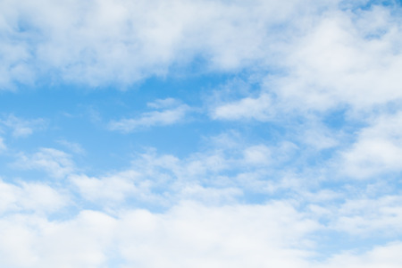 clouds in the blue sky, day