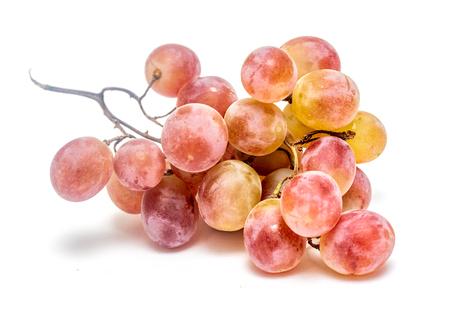 Foto für ripe bunch of grapes on a white background - Lizenzfreies Bild