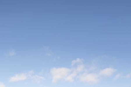Photo pour White clouds in the blue sky, daytime blue sky background. - image libre de droit