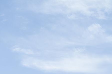 Foto de Blue sky as a background on a clear day. - Imagen libre de derechos