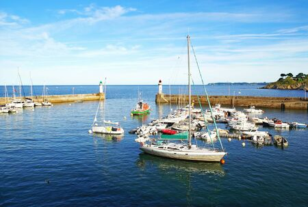Photo for Small marina of Belle Ile en Mer in Brittany, France - Royalty Free Image
