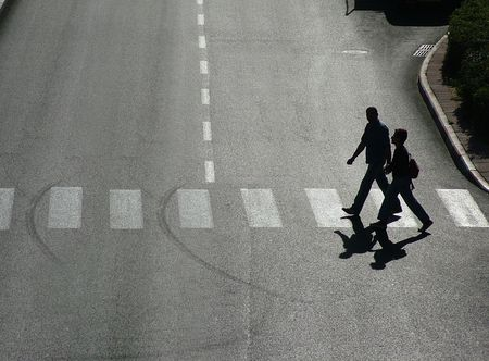 Photo for pedestrian crossing - Royalty Free Image