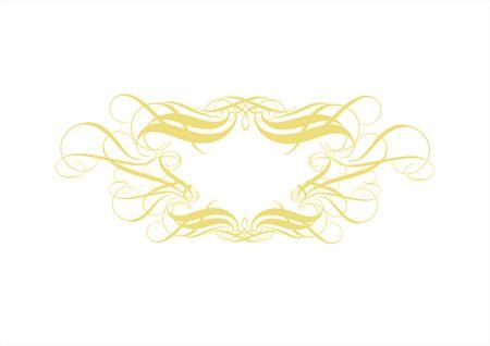 ornamental elements. Suggested uses: titling frame and corner details.
