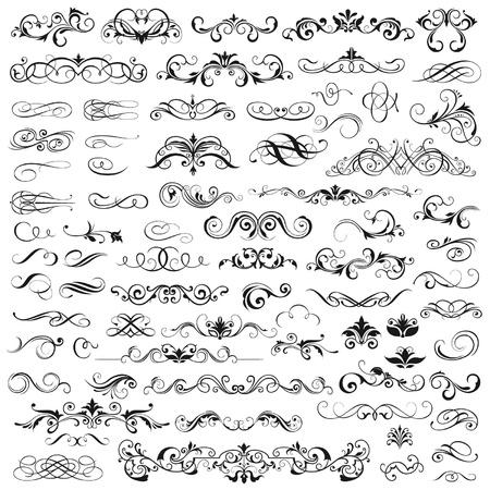 Illustration for Set of  graphic elements for design - Royalty Free Image