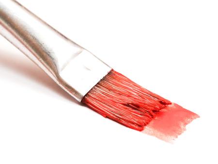 Photo pour Painting with a paintbrush - image libre de droit