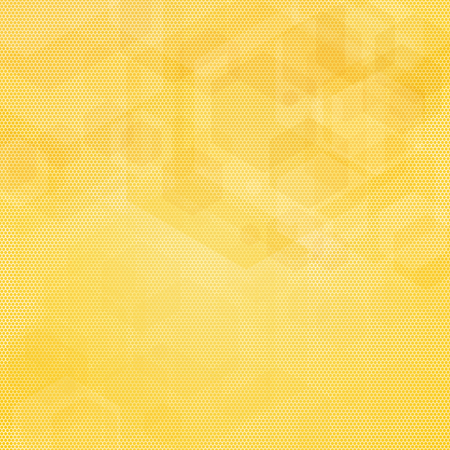 Abstract geometric vector background in yellow colors.