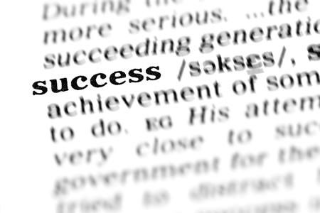 success (the dictionary project, macro shots, shallow D.O.F.)
